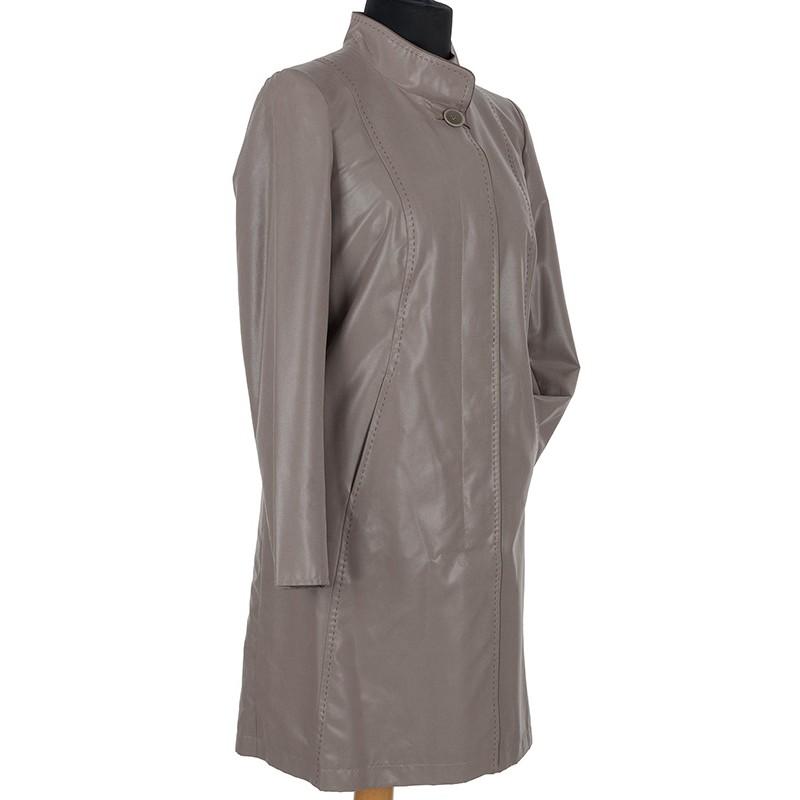 Płaszcz wiosenny Biba Cyntia taupe rozmiar 42 46 48 50 52