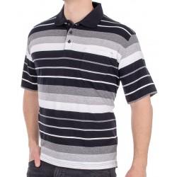 Koszulka polo Kings Elkjaer 31D*505 biało czarne paski M L XL 2XL 3XL