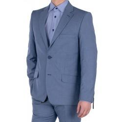 Garnitur męski Lord T-5 niebieski wełna r. 50 52 54 56 58 60 62 64 66