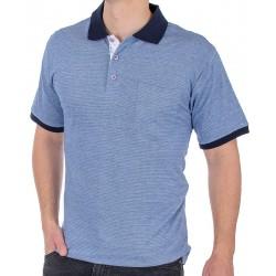 Niebieska koszulka polo Kings Elkjaer 905 345 kr. rękaw r. M L XL 2XL