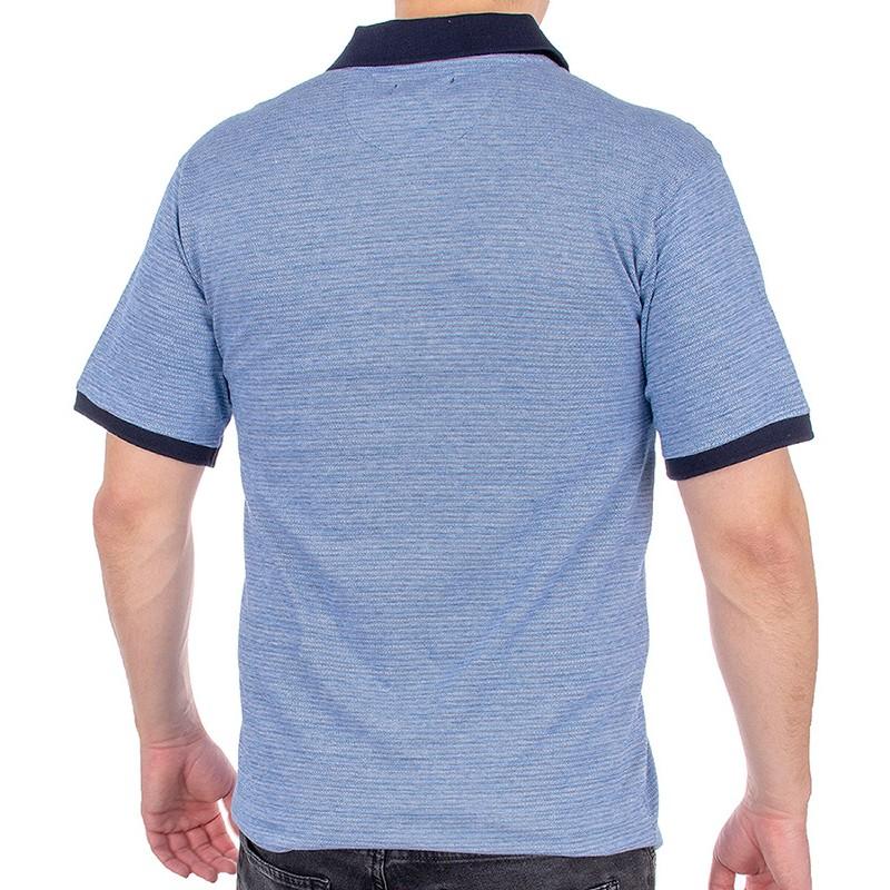 Niebieska koszulka polo Kings Elkjaer 905 345