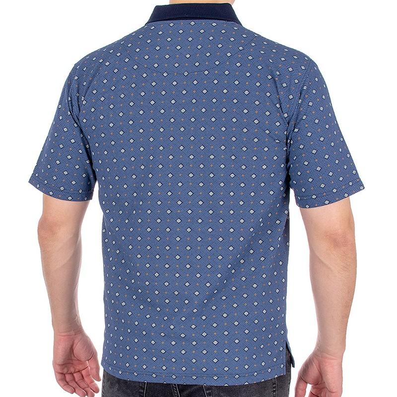 Koszulka polo Kings 30T*314101 - jasny granatowy