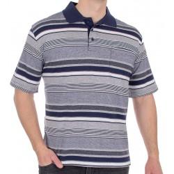 Granatowo-niebieska koszulka polo Kings Elkjaer 31D*502 M L XL 2XL 3XL