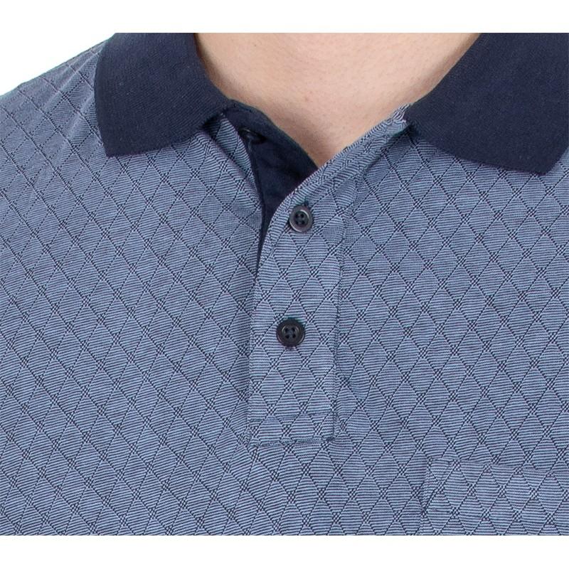 Niebieska koszulka polo Kings Elkjaer 702 345