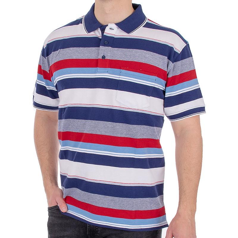 Koszulka polo Kings Elkjaer 710 345 w kolorowe pasy