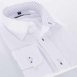 Biała koszula Comen z długim rękawem slim roz. 39 40 41 42 43 44 45 46