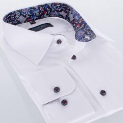 Biała koszula Comen z długim rękawem slim r. 39 40 41 42 43 44 45 46