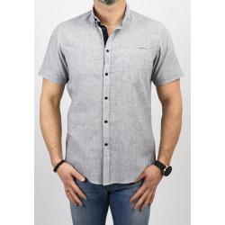 Koszula Pako PJKR 6 Erni szara z krótkim rękawem r. M L XL 2XL 3XL