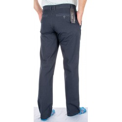 Grafitowe bawełniane spodnie niezwężane Lord R-12 roz. 82-112 cm