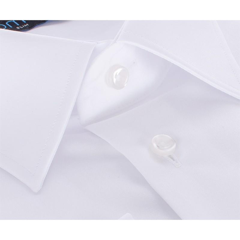Biała koszula wizytowa Comen slim - długi rękaw