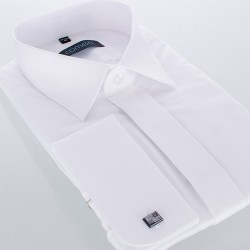 Koszula Comen regular na spinki biała 39 40 41 42 43 44 45 46 48 50