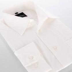 Koszula Comen z dł. rękawem - regular beżowa ecru
