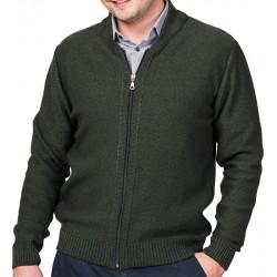 Rozpinany sweter Lasota Tomasz - oliwka