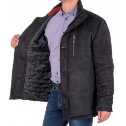 Zimowa kurtka Racmen model 3071 czarna r. 48 50 52 54 56 58 60 62 64