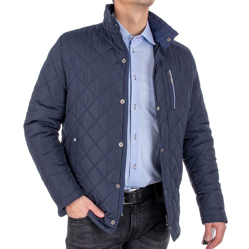Granatowa kurtka pikowana Racmen 2982 Bartek