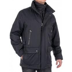 Czarna zimowa kurtka Kings Canson 21C*650-150 01 black 48 50 52 54 56