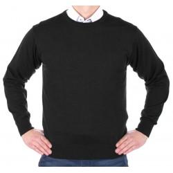 Sweter u-neck Kings 100*S-401 4007 czarny 340 roz. M L XL 2XL 3XL