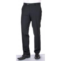 Grafitowe spodnie wizytowe w kant Asta wełniane