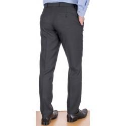 Grafitowe spodnie Lord Sp.058 wełna w kant rozmiar 84-112 cm