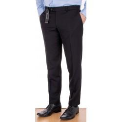 Czarne wizytowe spodnie Lord Sp.070 wełniane w kant roz. 84 -112 cm