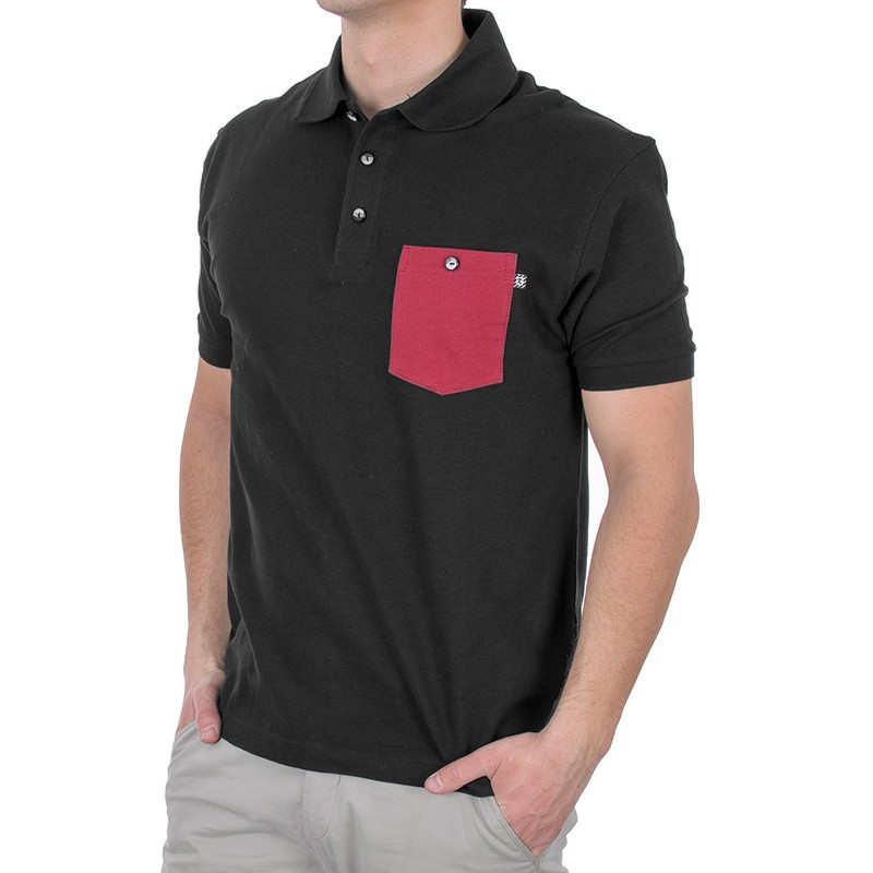 Koszulka kr. rękaw polo Kings 802FK czarne