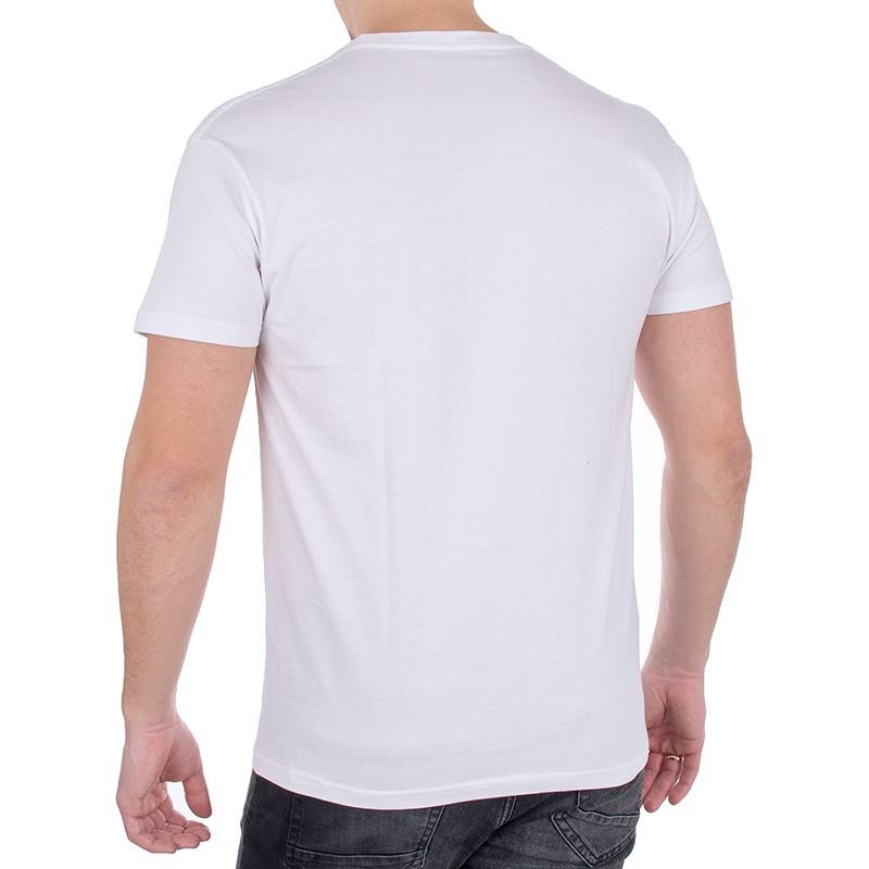 Biały bawełniany t-shirt Kings 750-101