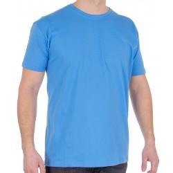 Błękitny bawełniany t-shirt Kings 750-101 roz. M L XL 2XL 3XL 4XL 5XL