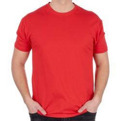 Czerwony bawełniany t-shirt Kings 750-101 roz. M L XL 2XL 3XL 4XL 5XL
