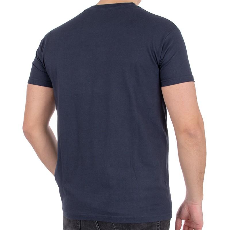 T-shirt Kings 750-101 ciemny granatowy