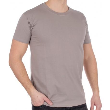 Bawełniany t-shirt Kings 750-101 cappuccino