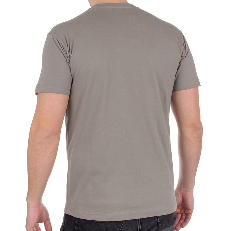 Bawełniany t-shirt Kings 750-101 cynkowy