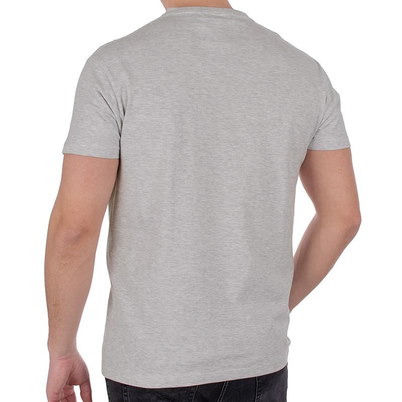 T-shirt Kings 750-101 średni szary melanż