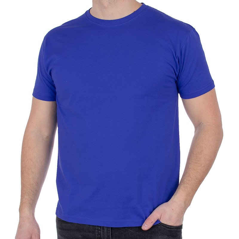 T-shirt Kings 750-101 jasny kobaltowy