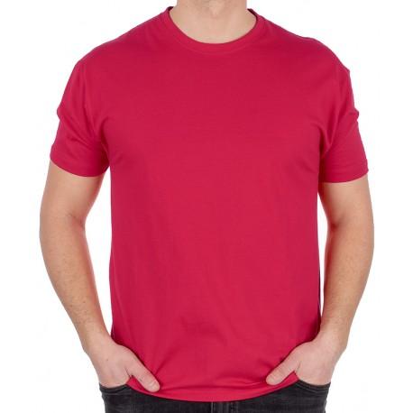 Bawełniany t-shirt Kings 750-101 w kolorze malinowym