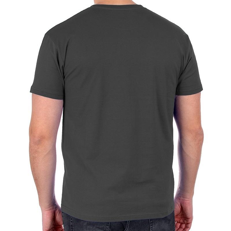 Stalowy bawełniany t-shirt Kings 750-101 bawełna