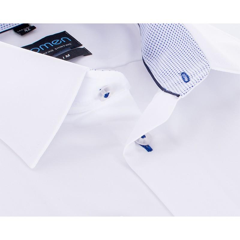 Koszula z długim rękawem Comen biała - slim
