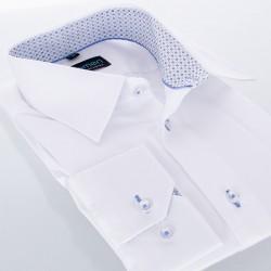 Koszula Comen regular gładka biała z dł. rękawem r. 39 40 41 42 43 44
