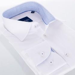 Biała koszula z długim rękawem Comen slim 39 40 41 42 43 44 45 46