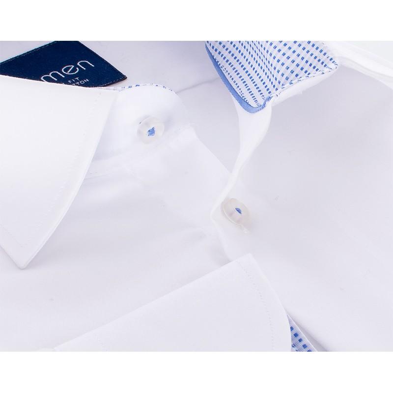 Biała koszula z długim rękawem Comen - slim