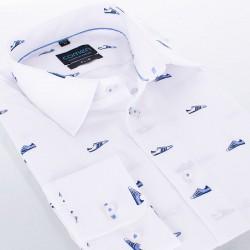 Biała koszula Comen slim długi rękaw w buty 39 40 41 42 43 44 45 46