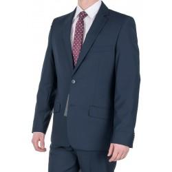 Granatowy garnitur męski Lord T-8 wełniany