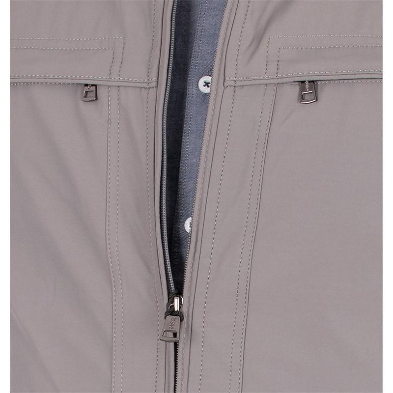 Wiosenna bawełniana kurtka Issho M2160 kolor 18 szary