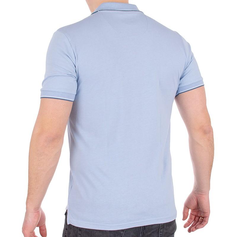 Błękitna koszulka Pako Jeans TM polo Rich