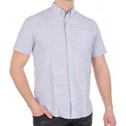 Koszula Pako Jeans KR 5 Call niebieska krótki rękaw r. M L XL 2XL 3XL