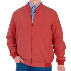Czerwona kurtka wiosenna Canson 890 190 kolor 09 r. 50 52 54 56 58 60