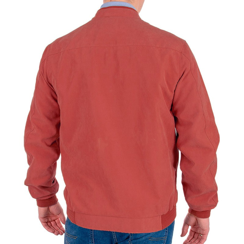 Czerwona kurtka wiosenna Canson 890 190 kolor 09