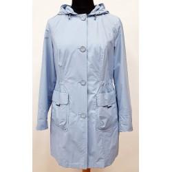 kurtka wiosenna damska Biba Inga jasno niebieska rozmiar 42