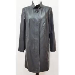 płaszcz wiosenno letni Biba Gabriela grafitowo czarny rozmiar 44 52 54