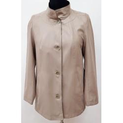 kurtka wiosenno letnia Biba Elżbieta cappucino rozmiar 40 48