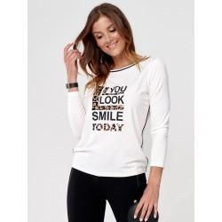 bluzka damska Sunwear C31-5-08 kremowy rozmiar 40 44 46 48